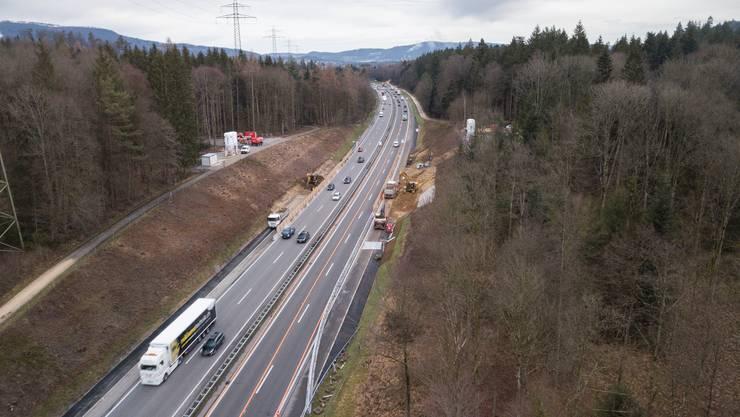 Der Bund steckt 2,5 Milliarden Franken in das Schweizer Nationalstrassennetz.