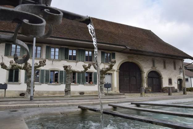 Bossarthaus / Bossartschüür an der Dorfstrasse in Windisch