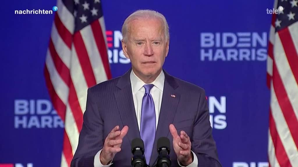 Joe Biden siegt bei US-Wahlen