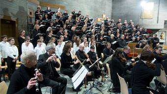 Orchester, Chor und Solisten liessen ein eindrückliches Gemeinschaftswerk ertönen.
