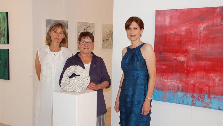 France Mattille, Theres Vanelli und Katherine Musolino (v.l.).