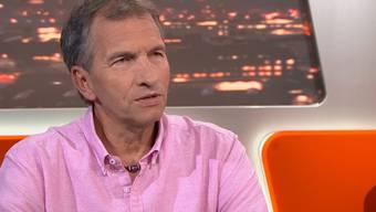 Andreas Widmer in der Sendung «TalkTäglich».