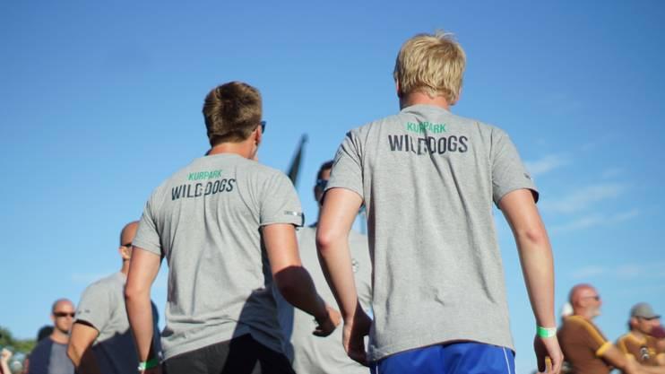 Team-Mitglieder der KP Wild Dogs aus Baden