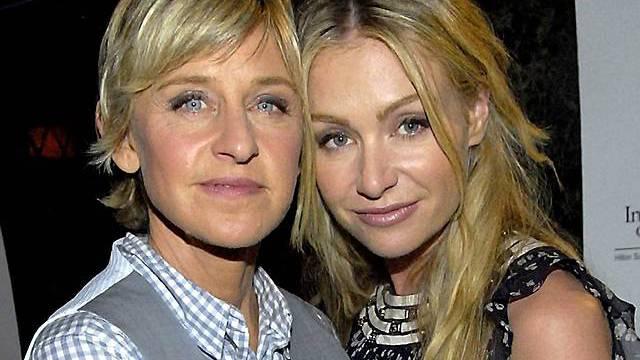 Portia de Rossi mit ihrer Partnerin Ellen DeGeneres (Archiv)