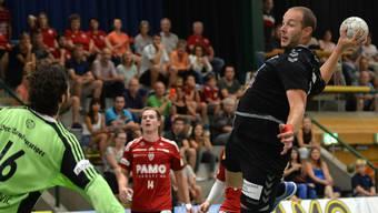 Der Basler Simon Wittlin brauchte gegen die Aargauer viele Chancen bis er punkten konnte - wie wird es wohl gegen die Mannschaft aus Gossau?