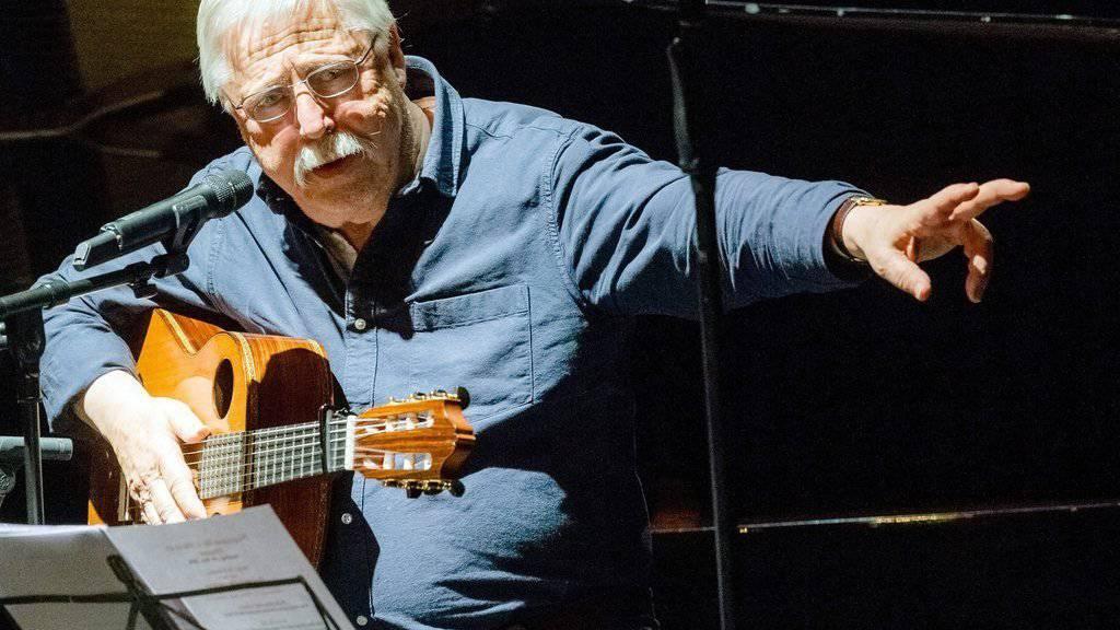 Wolf Biermann hat am 20. November 2016 im Hamburger Thalia Theater seinen 80. Geburtstag gefeiert (Archiv)