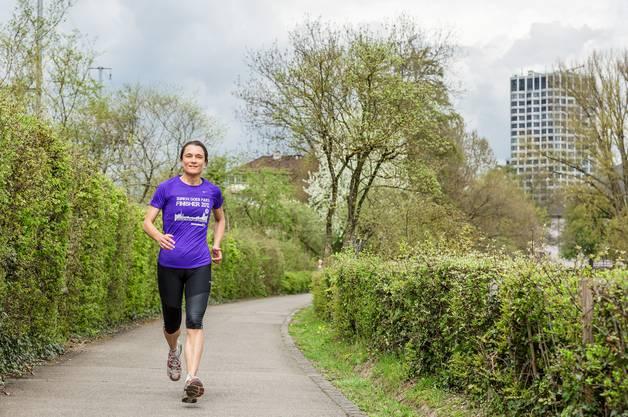 Die Dietiker Friedensrichterin nahm zum 10. Mal am Zürich Marathon teil.