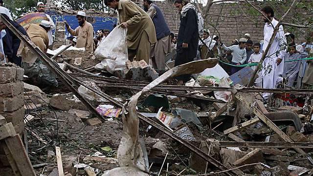 Bewohner des Swat-Tals unter Beschuss