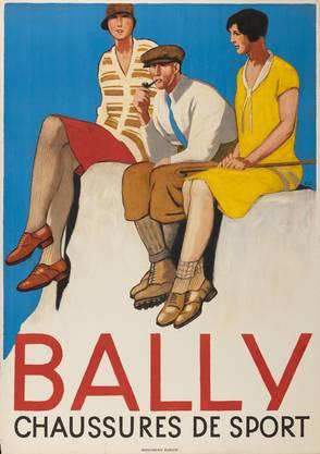 Emil Cardinaux, Bally chaussures de sport, 1928