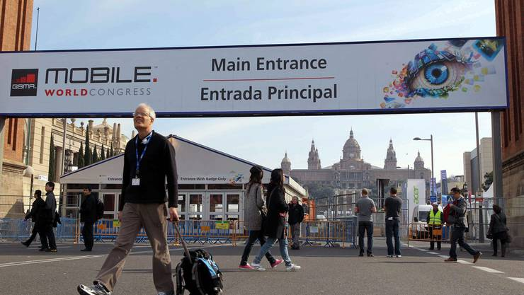 Seit Montag läuft der «Mobile World Congress» in Barcelona.