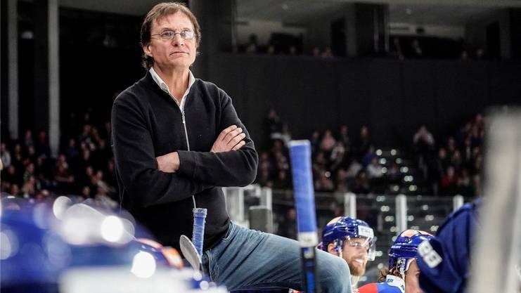 Will derzeit auf keinen Fall über Eishockey sprechen: Arno Del Curto.