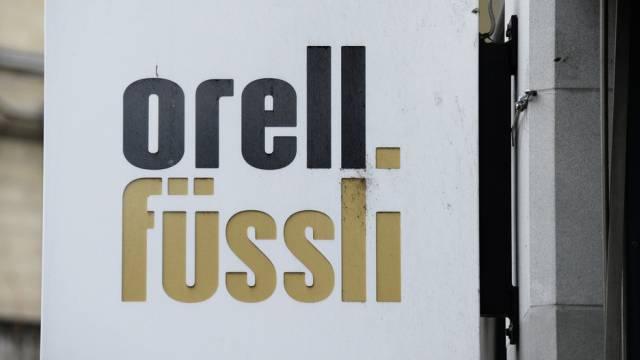 Logo der Banknotendruck- und Buchhandelsgruppe Orell Füssli
