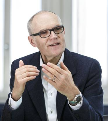 Daniel Aebli, bisheriger Chef Stahl Gerlafingen: «Ich sage am liebsten gar nichts.»