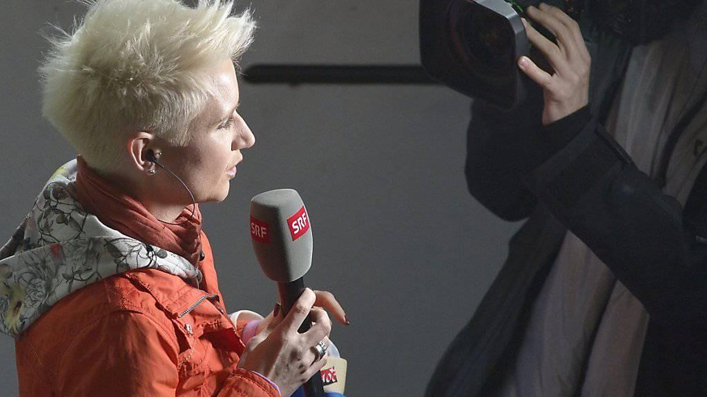 SRF-Reporterin Steffi Buchli ist zum ersten Mal Mutter geworden. (Archivbild)