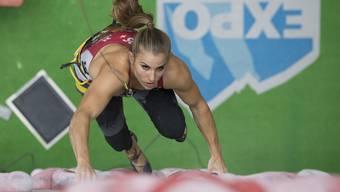 Mit dem Ziel vor Augen: Petra Klingler startet in den USA.