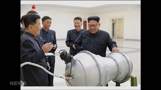 Doris Leuthard blickt besorgt nach Nordkorea