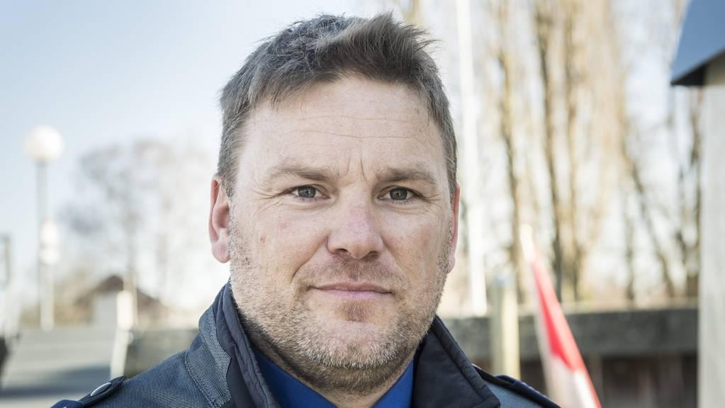Marcel Kuhn, Dienstchef der Seepolizei Thurgau