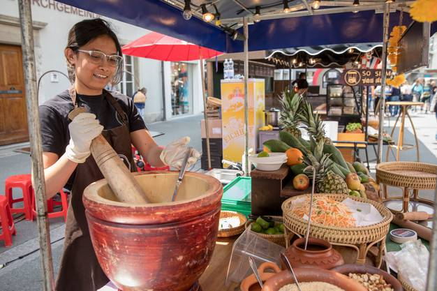 Spezialitäten aus Thailand.