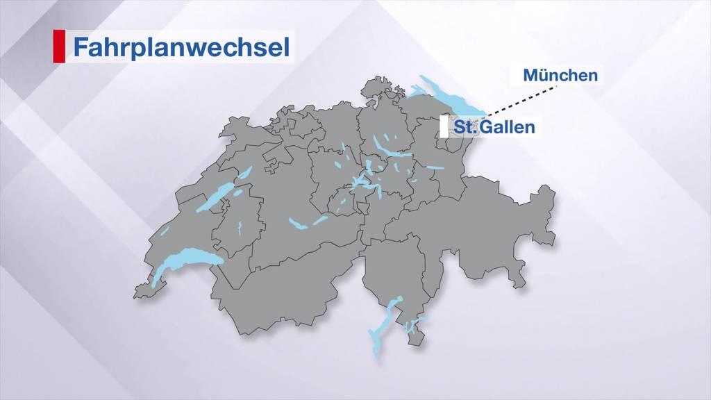 Fahrplanwechsel: Ostschweiz bleibt verschohnt