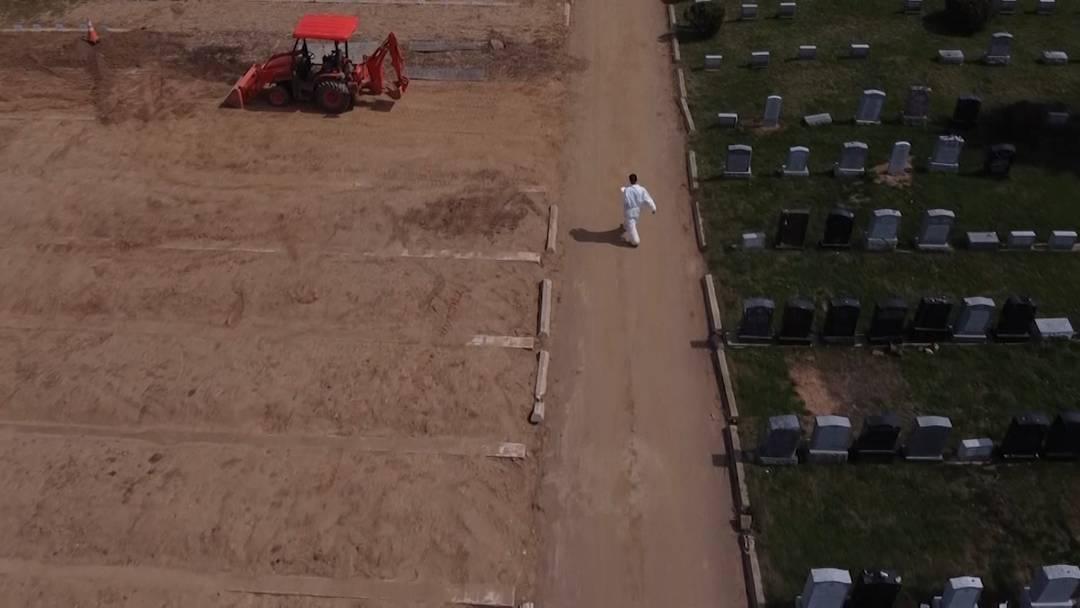 Coronakrise: Zahl der Todesopfer steigt - Friedhöfe bauen aus
