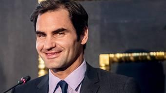 Roger Federer, der Bodenständige: Der Tennisspieler will seinen Kindern trotz seines Berühmtheitsgrads ein stinknormaler Papi sein. (Archivbild)