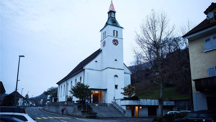 Die römisch-katholische Kirche Grellingen.