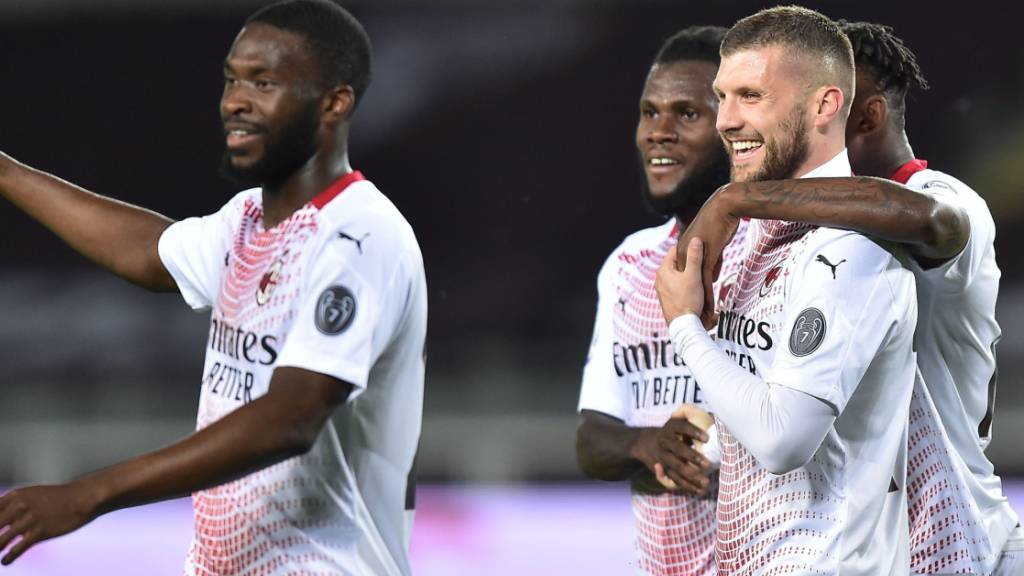 Ante Rebic trifft bei Milans Kantersieg gegen den FC Torino dreimal in zwölf Minuten
