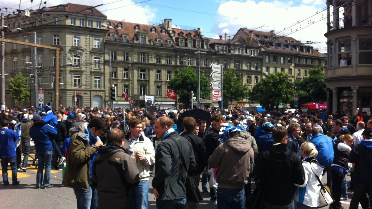 Grösste Jugend-Demonstration seit 1987