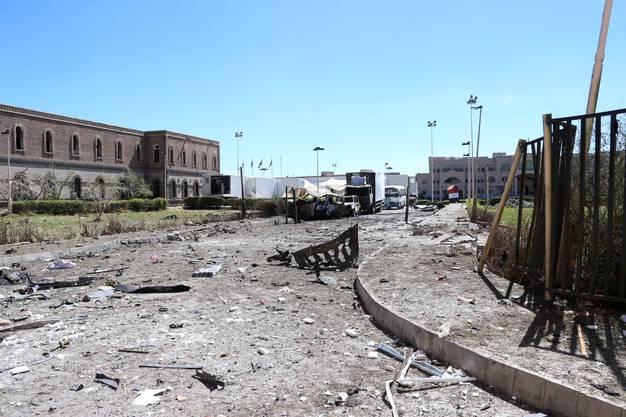 Die Autobombe richtete grosse Zerstörung an.