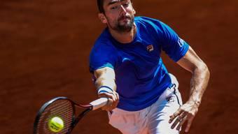 Marin Cilic konnte nicht zu seinem Viertelfinal gegen Novak Djokovic antreten