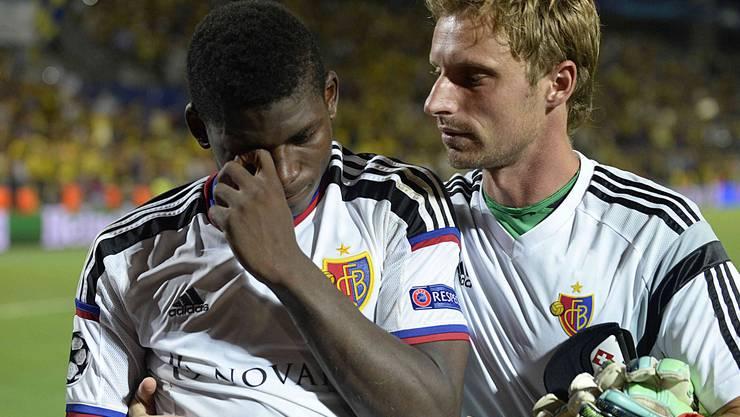 Grosse Enttäuschung beim FCB nach dem Champions-League-Aus.