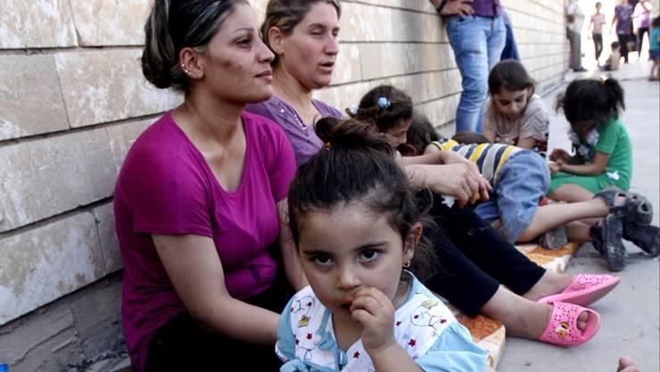 Auf der Flucht: Irakische Christen werden von militanten Islamisten verfolgt.