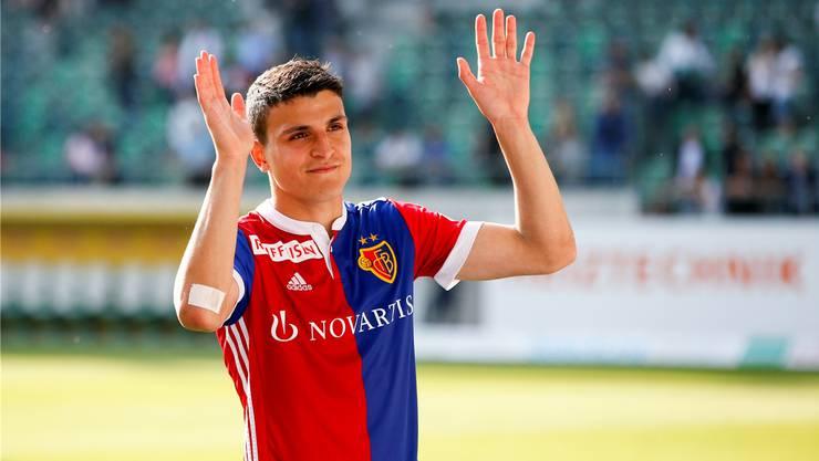 Verabschiedet sich vom FC Basel: Mohamed Elyounoussi wechselt zu Southampton.