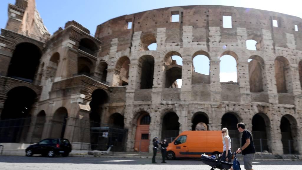 Der Corona-Lockdown hat Italien und Frankreich besonders hart getroffen. Ökonomen rechnen für 2020 mit einem einschneidenden Einbruch der Wirtschaft.(Archivbild)