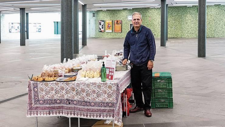 Der Badener Wochenmarkt wurde auf die neue Cordulapassage erweitert – doch oft herrscht dort gähnende Leere.