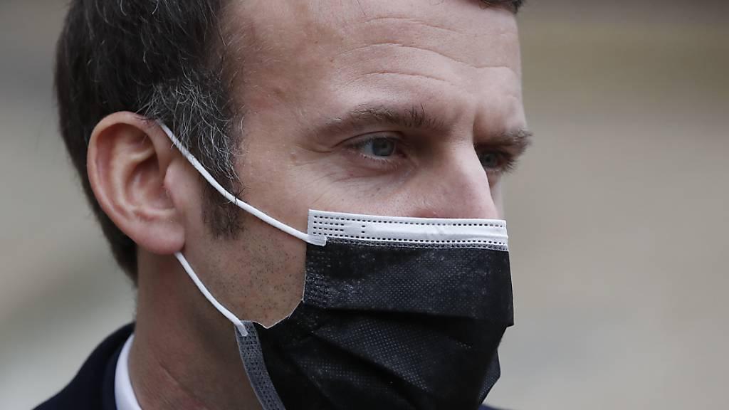 Frankreichs Staatschef Macron beendet Corona-Isolierung