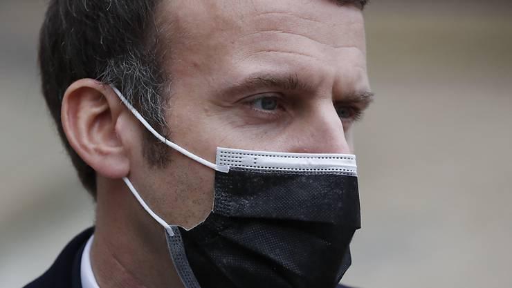Emmanuel Macron, Präsident von Frankreich. Foto: Francois Mori/AP/dpa