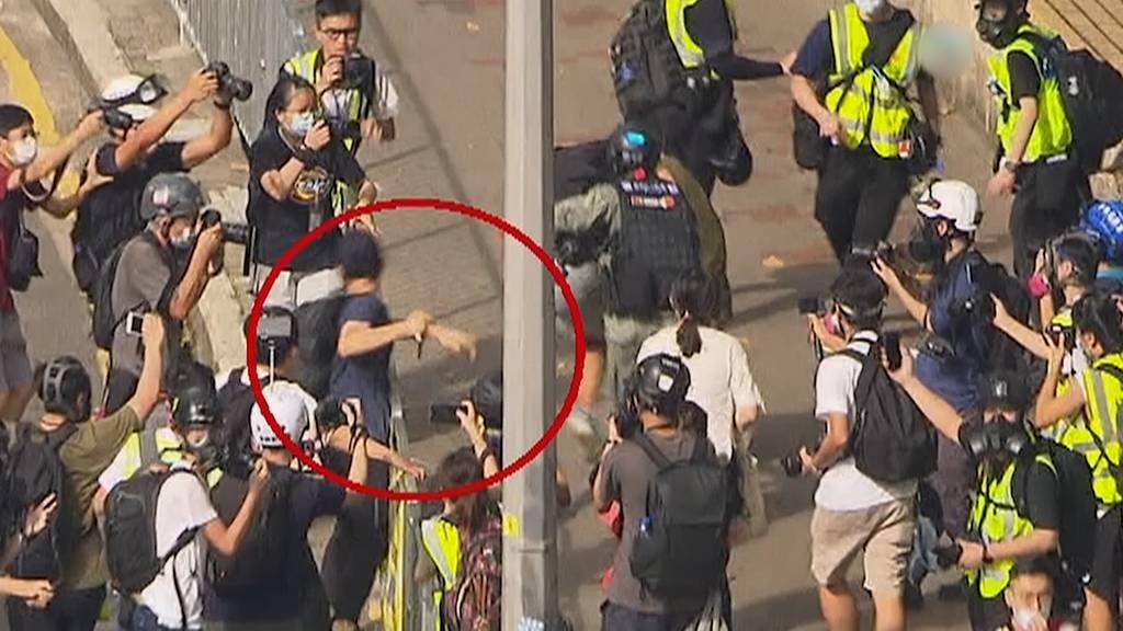 Hongkong: China droht Grossbritannien - Australien erwägt Sondervisa