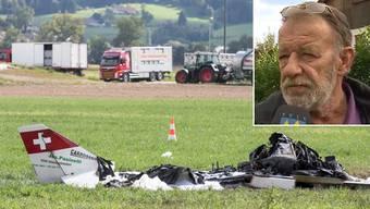 Wie es zum Flugzeugabsturz bei Kölliken gekommen ist, ist noch unklar. Ein Aviatik-Experte erklärt, wie es jedoch zum Unfall gekommen sein könnte.