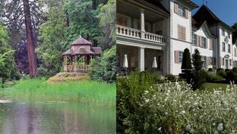 Der Ballypark und das Schloss Waldegg gehören zu den schönste Gärten und Parks der Schweiz