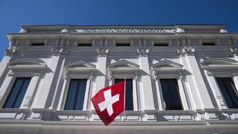 Das Bundesstrafgericht in Bellinzona muss das erste Mal über einen mutmasslichen Kriegsverbrecher richten. (Archivbild)