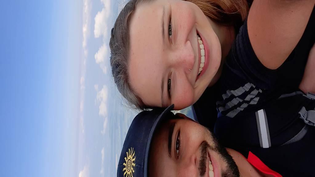 Martina Schnüriger und Ivan Da Luz Guerra aus Emmenbrücke