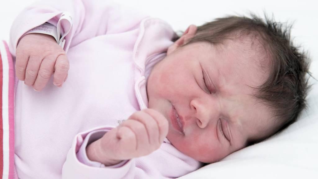 Neujahrsbaby: Elena erblickt in Grabs das Licht der Welt