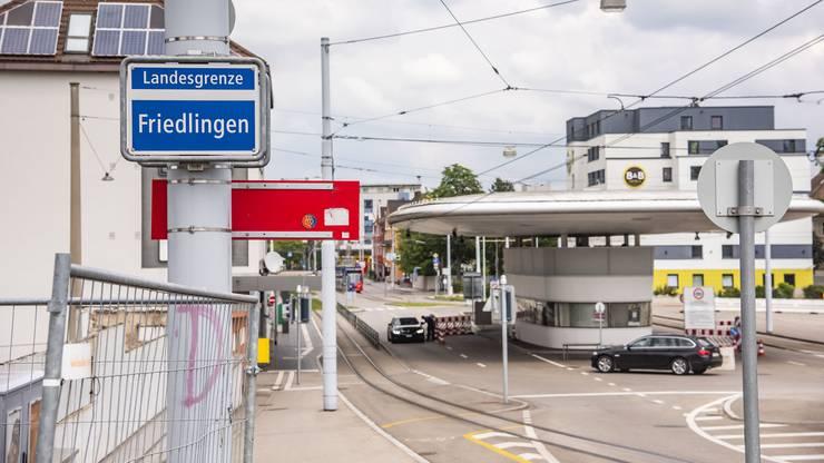 Die Grenze bei Weil-Friedlingen kann ab Montag wieder ungehindert passiert werden.