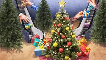 Weihnachten - auch ein Fest des Konsums.