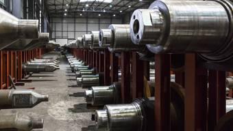 Das Stahlwerk Gerlafingen hat einige Veränderungen vor. (Archiv)