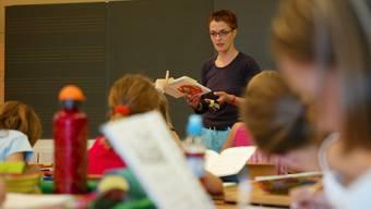 Der Kanton Aargau kämpft mit Lehrermangel (Bild: Rolf Jenni)
