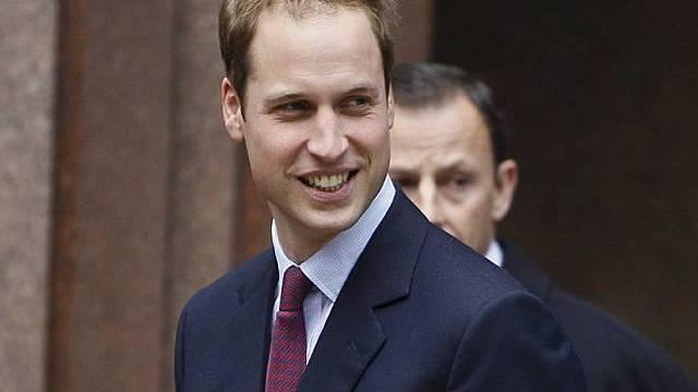 Prinz William, neuerdings Herzog von Cambridge, musste wieder einrücken
