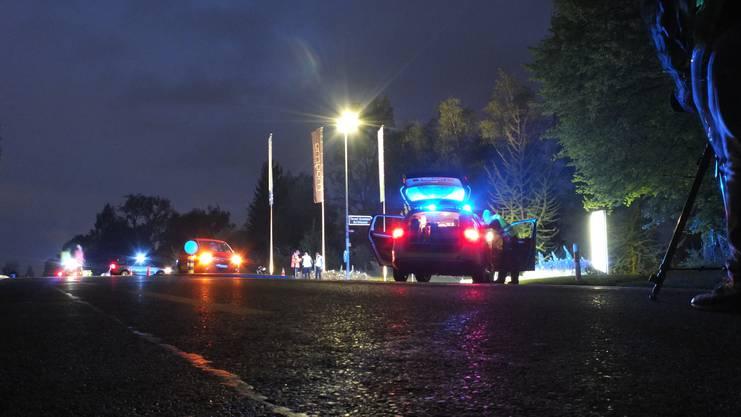 Die tödliche Kollision hatte sich gegen 20 Uhr auf der Bruggerstrasse ereignet.