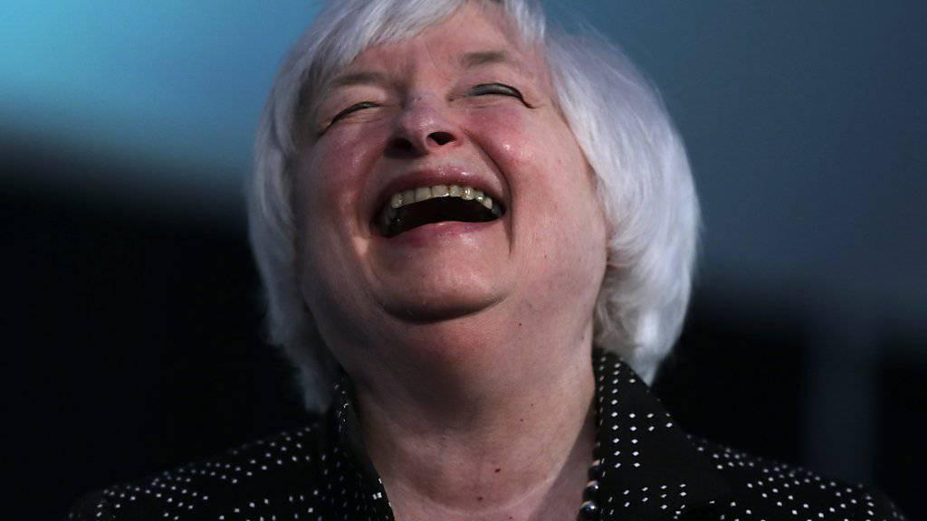 Zu früh: Die Chefin der US-Notenbank, Janet Yellen, wird an der nächsten Sitzung kaum an der Zinsschraube drehen. (Archivbild)